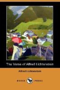 The Verse of Alfred Lichtenstein (Dodo Press)