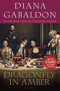 Dragonfly in Amber. Starz TV Tie-In