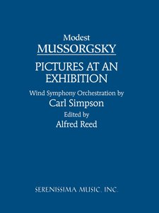 Pictures at an Exhibition: Study Score