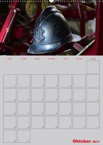 Alte Feuerwehrhelme - Terminplaner