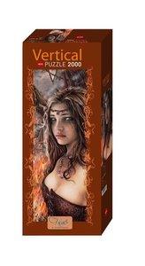Victoria Francés Vertical Puzzle 2000 Teile