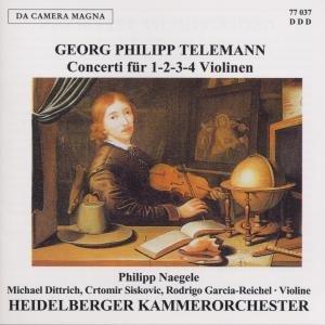 Concerti Für 1-2-3-4 Violinen