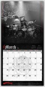 Motörhead 2017 - 12-Monatskalender