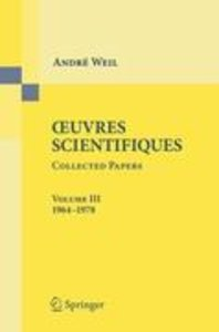Oeuvres Scientifiques - Collected Papers III