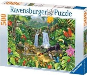 Im Dschungel. Puzzle 500 Teile