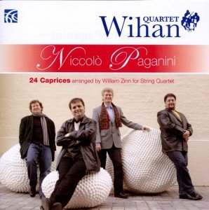 24 Caprices arranged by William Zinn for String Qu