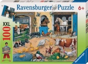 Ravensburger Puzzle Am Stall. 100 Teile