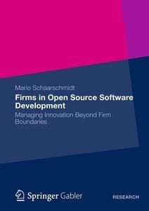 Firms in Open Source Software Development