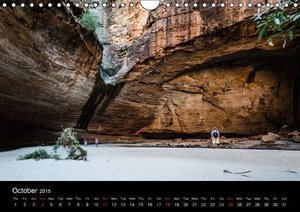 Australia - Kimberley / UK-Version (Wall Calendar 2015 DIN A4 La