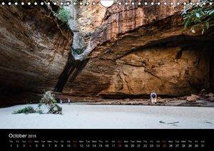 Australia - Kimberley / UK-Version (Wall Calendar 2015 DIN A4 La