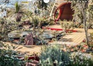 RHS Hampton Court Designer Gardens (Wall Calendar 2015 DIN A4 La