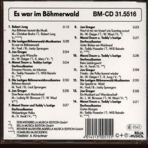 Es War Im Böhmerwald
