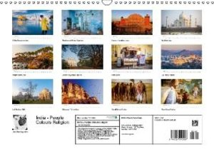 India - People Colours Religion (Wall Calendar 2015 DIN A3 Lands