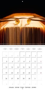 World of Books (Wall Calendar 2015 300 × 300 mm Square)
