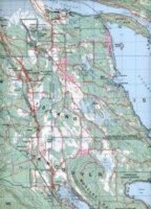 Gulf Islands (BC) Map 92B/14 / Nanaimo & Islands 92G/4. 1: 50 0