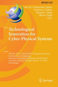 Technological Innovation for Cyber-Physical Systems