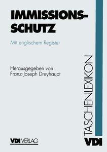 VDI-Taschenlexikon Immissionsschutz
