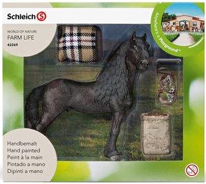 Schleich 42269 Pferdepflegeset, Friese