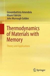 Thermodynamics of Materials with Memory
