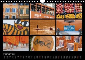 Colours (UK-Version) (Wall Calendar 2016 DIN A4 Landscape)