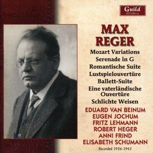 Orchesterwerke von Reger
