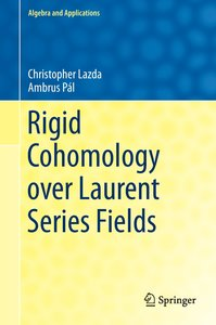 Rigid Cohomology over Laurent Series Fields
