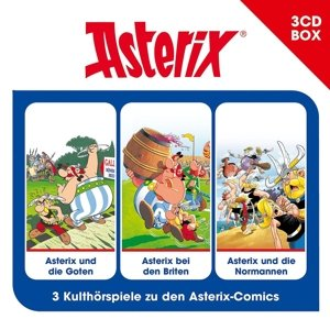 Asterix-3-CD Hörspielbox Vol.3