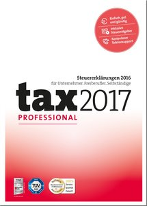tax 2017 - Professional (Steuerjahr 2016)