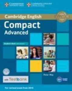 Compact Advanced Student's Book with Answers with CD-ROM with Te