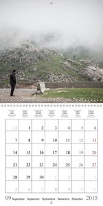 Mountain views in Uzbekistan (Wall Calendar 2015 300 × 300 mm Sq