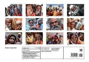 Indien Gesichter (Posterbuch DIN A3 quer)