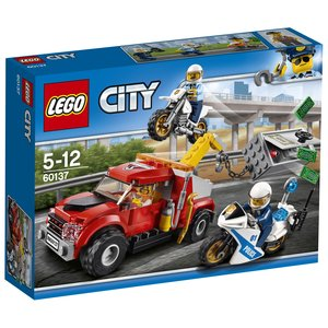 LEGO® City 60137 - Abschleppwagen auf Abwegen