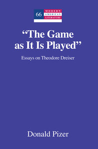 «The Game as It Is Played»