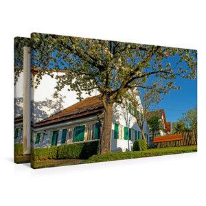 Premium Textil-Leinwand 90 cm x 60 cm quer Meilerhaus