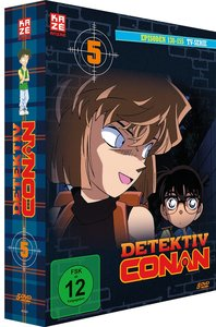 Detektiv Conan - TV-Serie - DVD Box 5 (Episoden 130-155) (5 DVDs