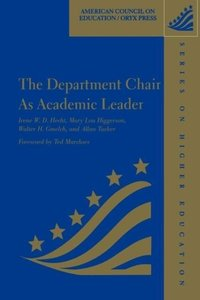 The Department Chair as Academic Leader