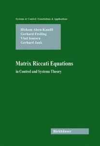 Matrix Riccati Equations in Control and Systems Theory