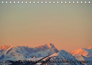 Magische Bergwelt, zwischen Sonnenaufgang und Sonnenuntergang