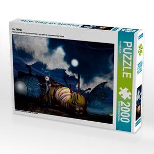 Der Hirte 2000 Teile Puzzle quer