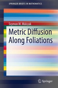 Metric Diffusion Along Foliations