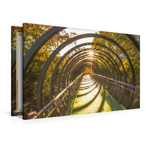 Premium Textil-Leinwand 120 cm x 80 cm quer Mit Sonnenstrahlen d