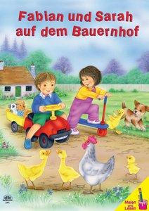 Fabian und Sarah auf dem Bauernhof