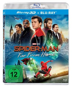 Spider-Man: Far from Home, 2 Blu-ray (3D Version)