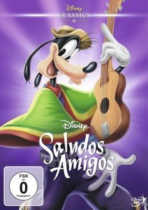 Saludos Amigos, 1 DVD