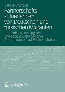 Partnerschaftszufriedenheit von Deutschen und türkischen Migrant