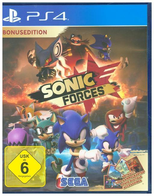 Sonic Forces Day One Edition, 1 PS4-Blu-Ray Disc - zum Schließen ins Bild klicken