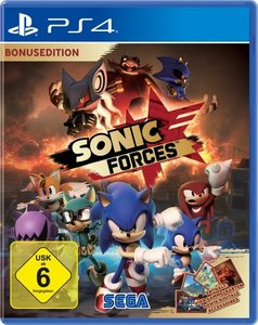 Sonic Forces Day One Edition, 1 PS4-Blu-Ray Disc
