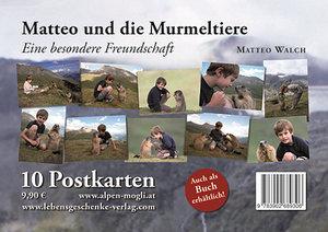 """Postkartenset """"Matteo & die Murmeltiere"""""""