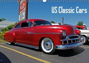 US Classic Cars (Wall Calendar 2015 DIN A3 Landscape)
