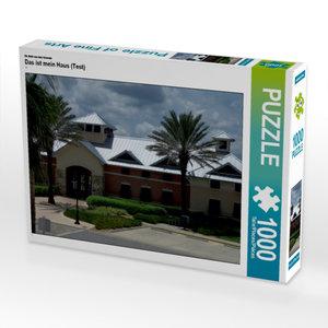 CALVENDO Puzzle Das ist mein Haus (Test) 1000 Teile Lege-Größe 6
